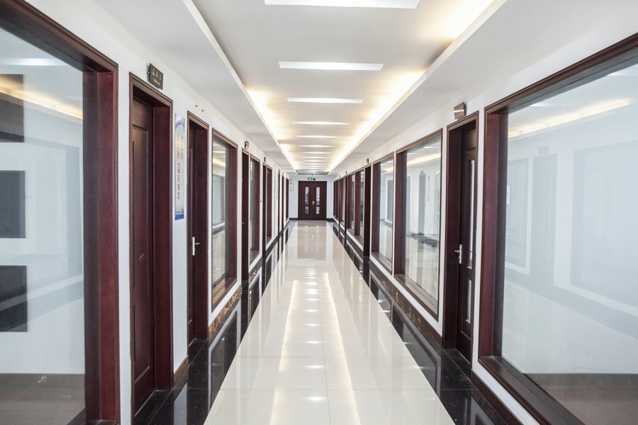 Couloir d'usine